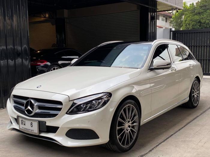 รถบ้าน 2016 Mercedez-Bena C350 e Estate  วิ่ง 50000 km AMG Packet