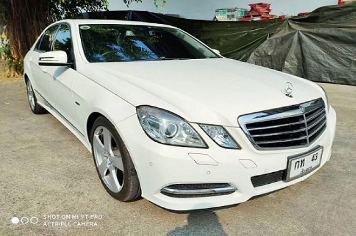ขายรถเก๋ง Mercedes-Benz E250 CGI BlueEFFICIENCY 1.8 W212 Avantgarde Sedan AT ปี 2012