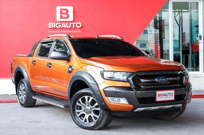 FORD RANGER 2.2 WILDTRAK ปี 2017